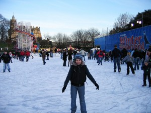 Winter Wonderland in Edinburgh