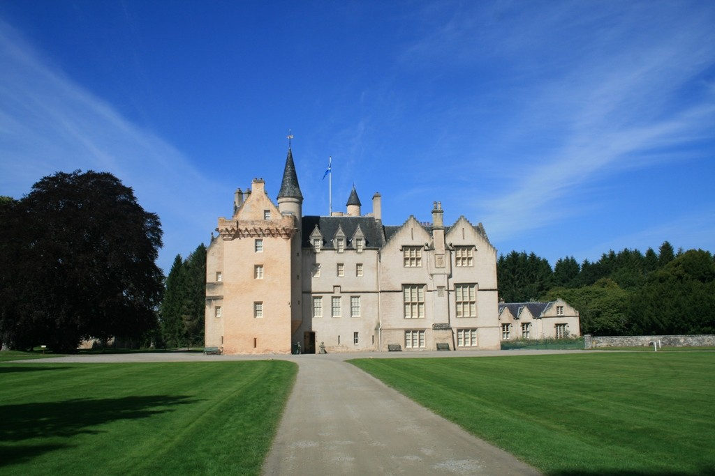 Historic castle to rent in Scotland