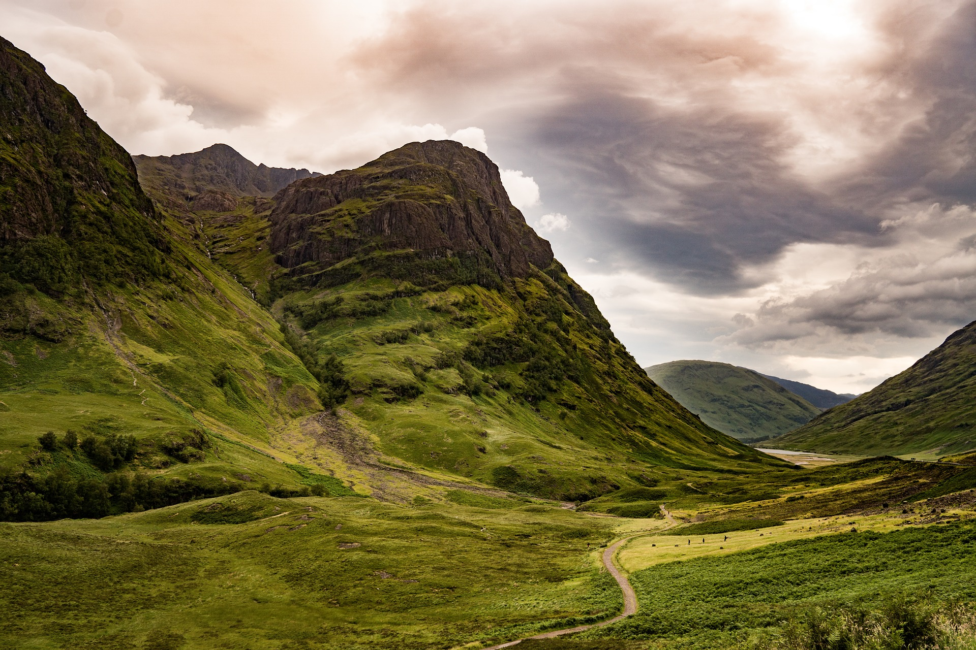 Glencoe an Outlander filming location in Scotland and one of Scotland's most iconic locations