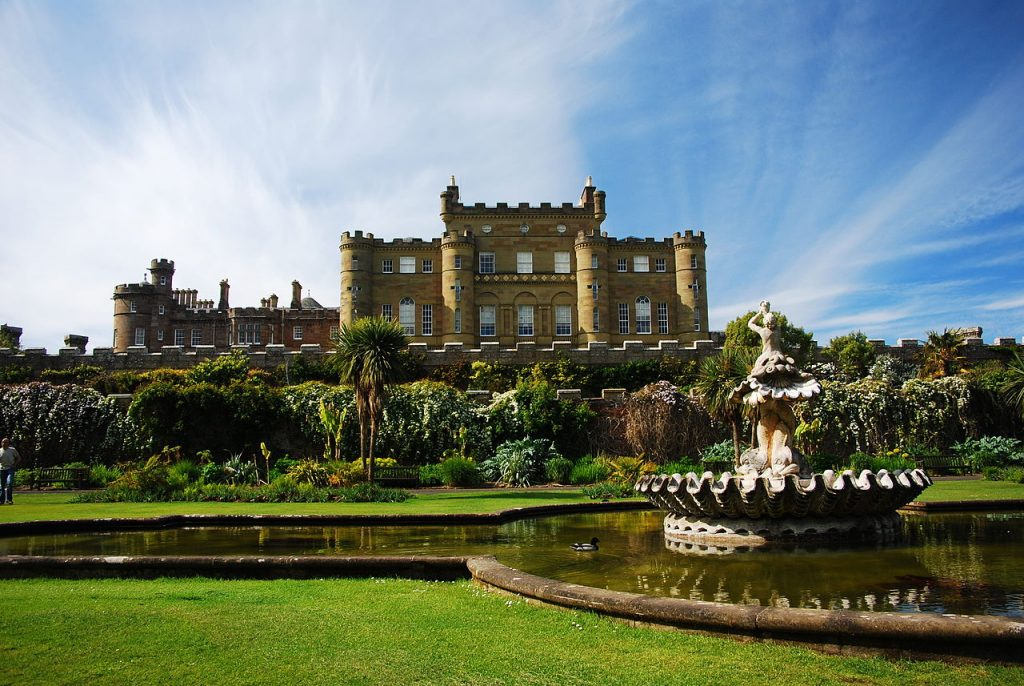 Culzean Castle is the perfect treasure filled half term day trip
