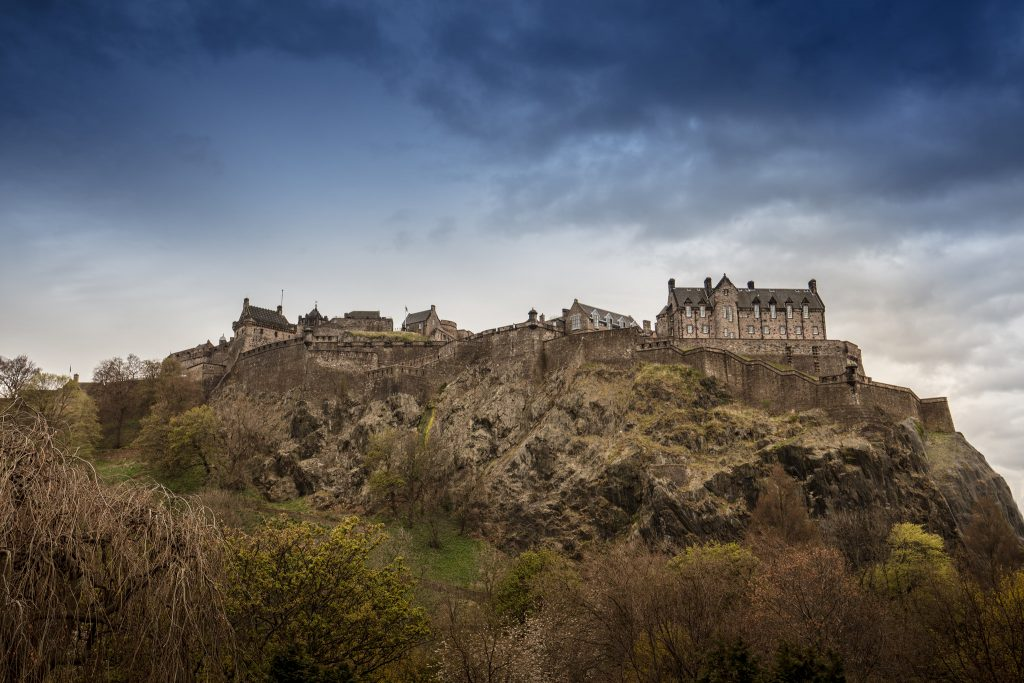 Edinburgh Castle makes for a fulfilling and entertaining day out with the kids in half term
