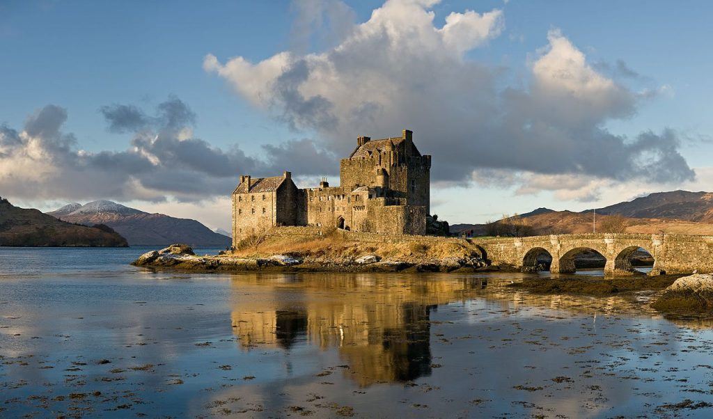 Eilean Donan Castle will create a wow factor half term day trip