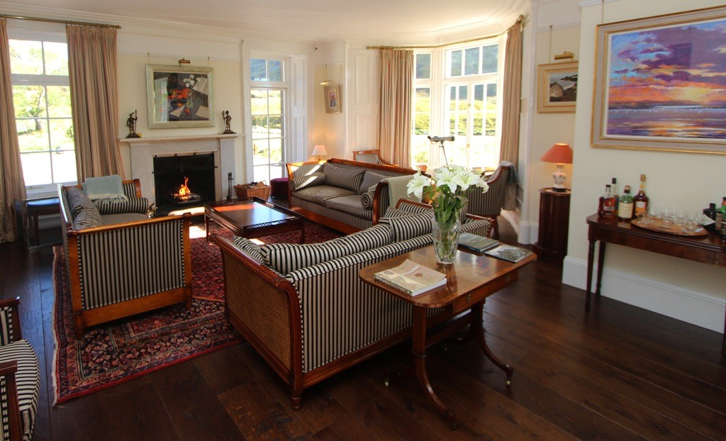 Retreat to a comfortable sofa after a good walk. Copyright Scotts Castle Holidays