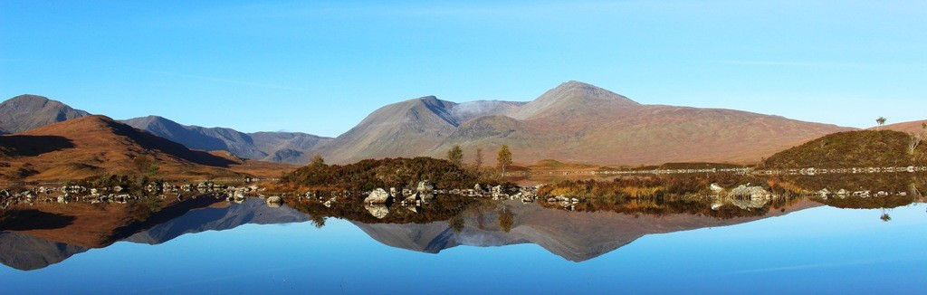 Lochan na h Achlaise. Copyright Scotts Castle Holidays