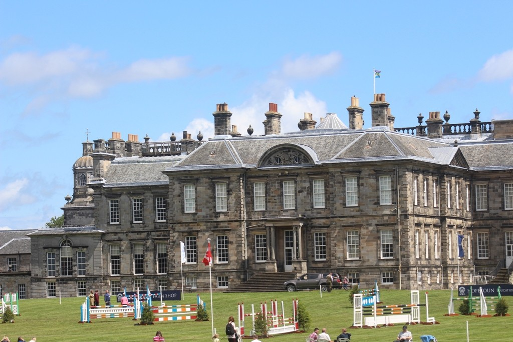Hopetoun House. (Duke of Sandringhams residence in Outlander). Copyright Antony Sherlock