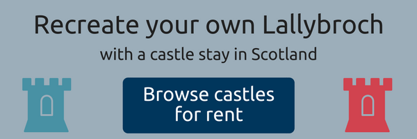 Outlander Lallybroch castle stays in Scotland
