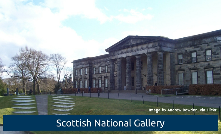 Image of Scottish National Gallery by Andrew Bowden on Flickr