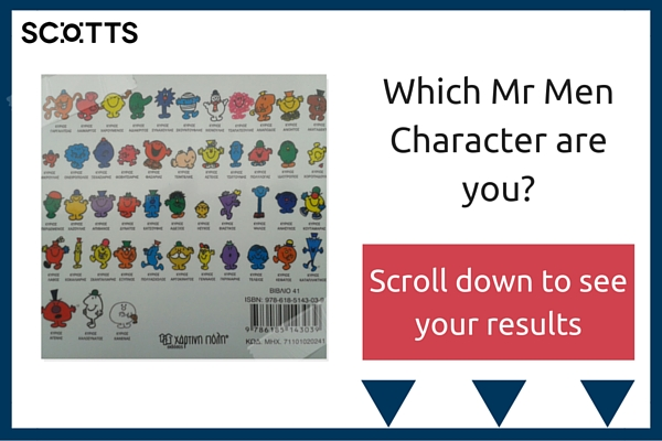 Which Mar Men character are you? Quiz graphic