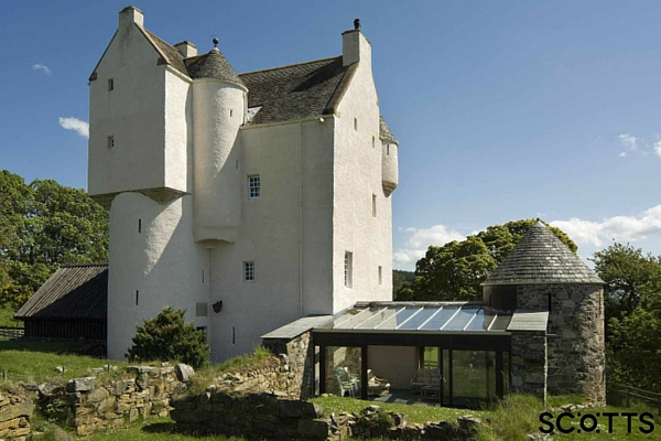 Scottish castle to rent near Grantown
