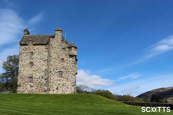 16th Century Scottish Highlands Castle