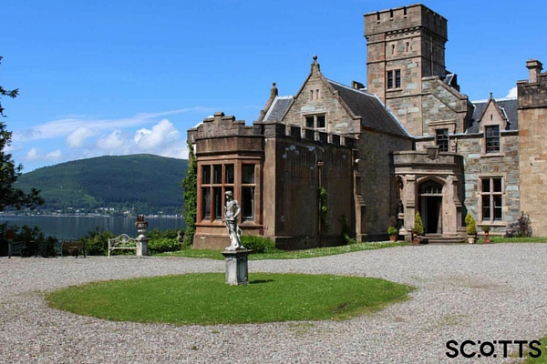 one of the best Scottish castles to rent near Loch Lomond