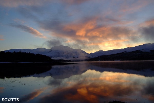 views of Ben Nevis Scotland