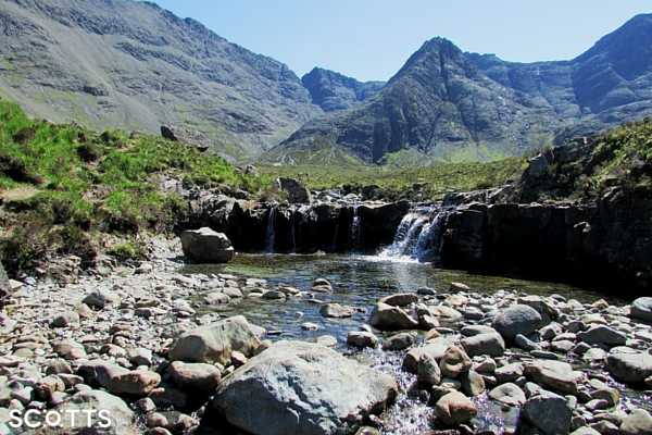 Fairy Pools Isle of Skye for your waterfall bucket list