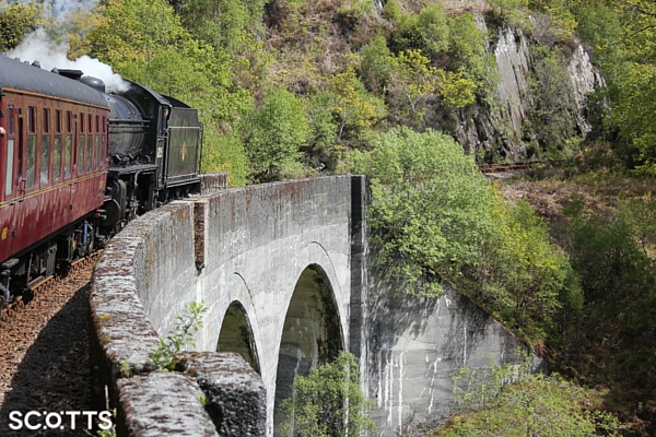 Jacobite Steam Train Hogwarts Express Scotland