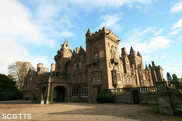 Stay in a castle in Scotland as part of your travel bucket list