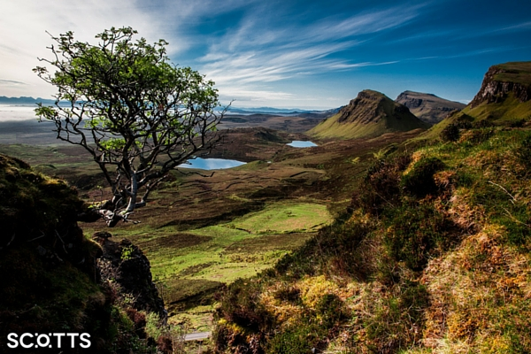 Isle of Skye landscape Scotland
