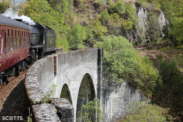 the hogwarts express scotland Jacobite train