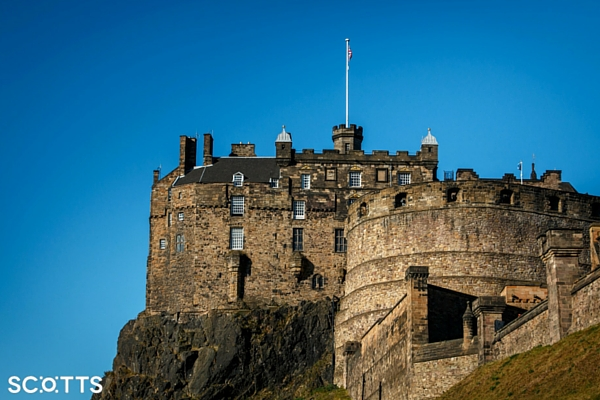 Edinburgh Castle is one for your Scotland bucket list