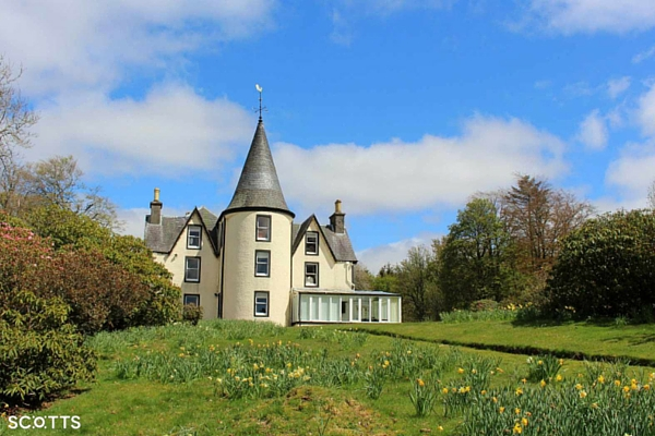 Scottish holiday houses with amazing views