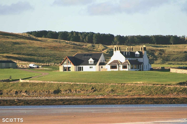 luxury lodge at cape wrath with amazing views