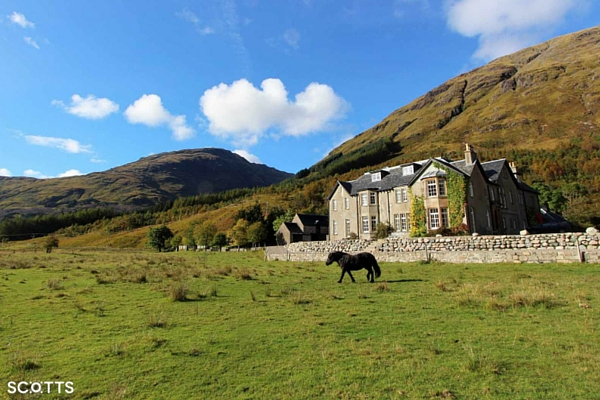 holiday house near skyfall Highlands with amazing views
