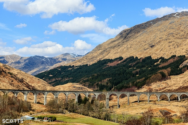filming locations around Fort William