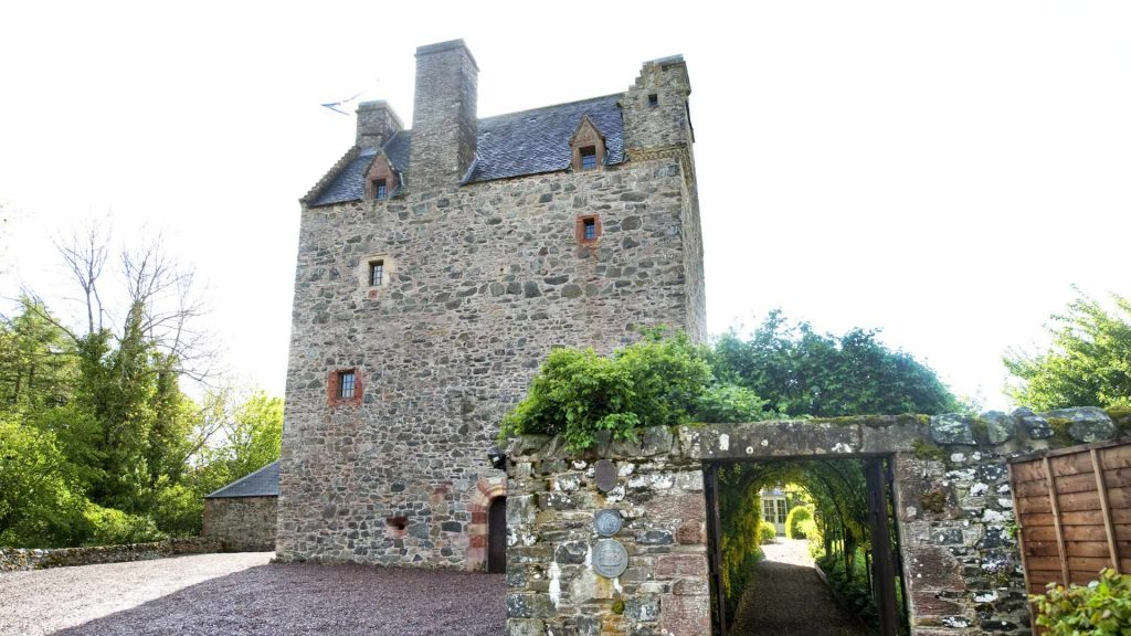 16th Century Castle for holidays on the Scottish Borders