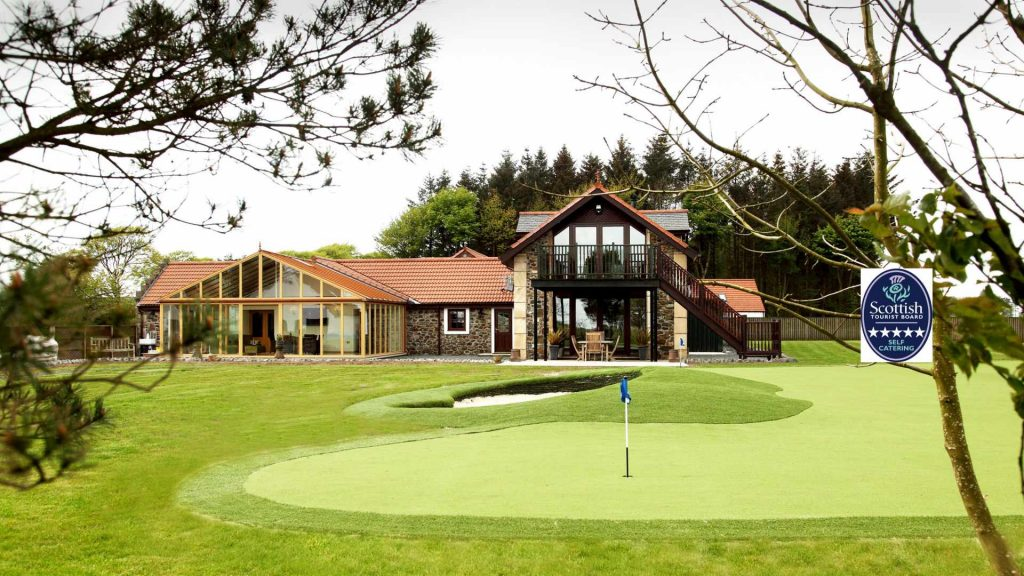 luxury holiday house for golfers in Scotland