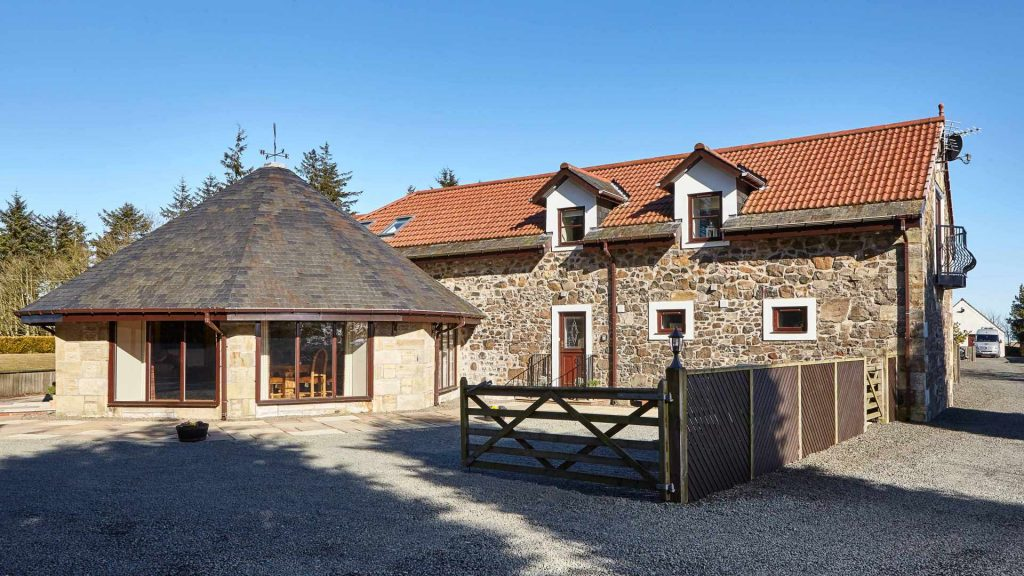 luxury round-house near St Andrews