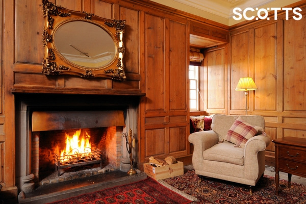 Cosy Living Room calls during an off-season holiday