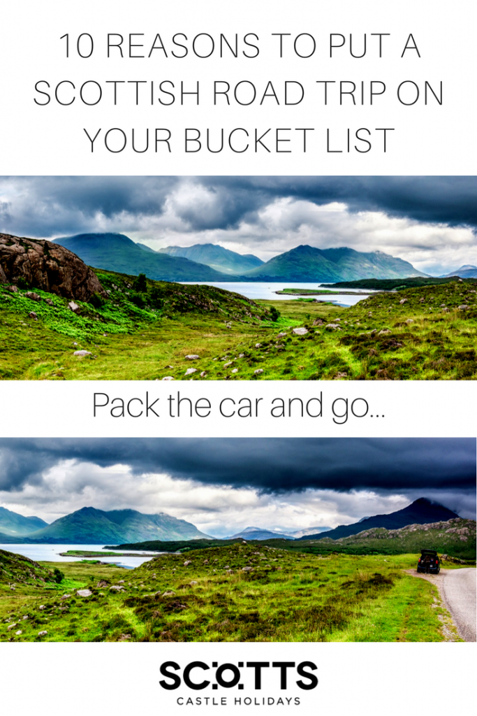 There are officially 13 Scottish road trips that steer you across and around Scotland experiencing this wee land in all its glory. Like driving? You'll love these drives around Scotland. Scottish driving holidays. Scottish road trips. Scotland's best drives.
