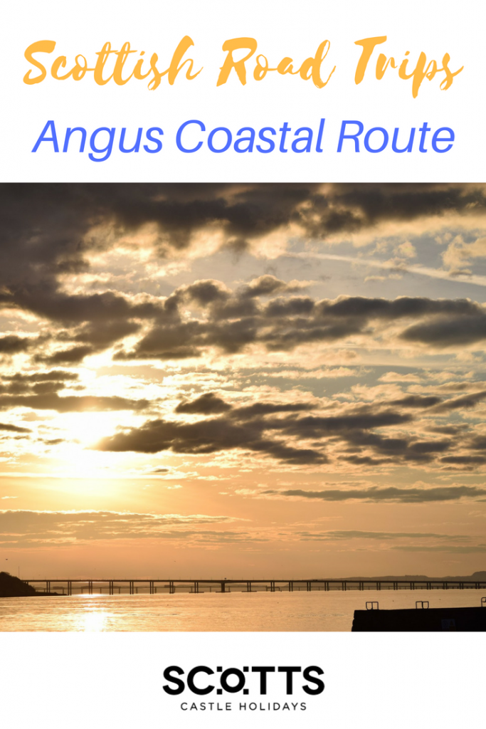 Next in our guide to great Scottish road trips, we take the eastern coastal way and follow Scotland's cliffs and coves between two historic cities, Dundee and Aberdeen. Known as the Angus Coastal Route, this road trip covers 68 miles (109km), almost all of them following the contours of the coastline.