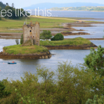 Argyll Coastal Route, this road trip covers 129 miles (208km) – one of the longest Scottish road trips – with almost all of them hugging shorelines.