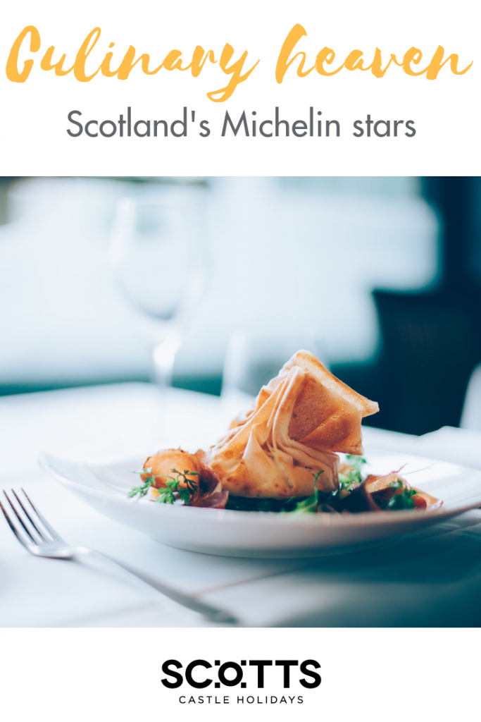 With an abundance of natural resources, both surf and turf, Scotland boasts a long list of foodie treats. The autumn heralds a particularly bumper harvest making September the perfect for a short break in Scotland with a foodie twist. To give you some inspiration, in this article we look at the Scottish restaurants with the world's highest culinary accolade, a Michelin star, perfect for a feast to remember. And to round off your short break, we suggest large holiday homes in Scotland, with room for everyone however much they've eaten!