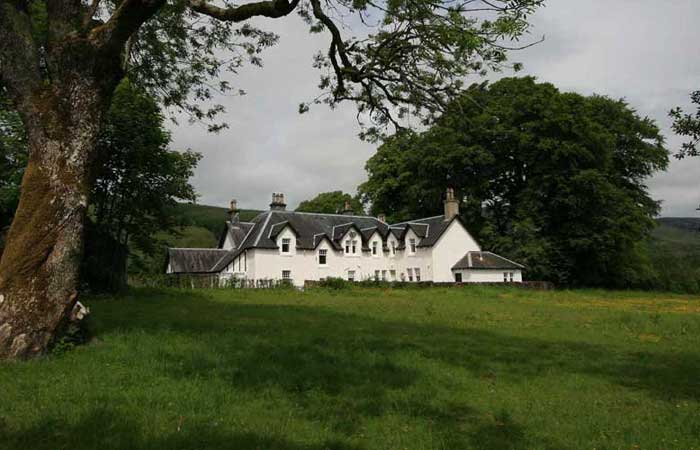 Victorian Fishing Lodge, near Fort William