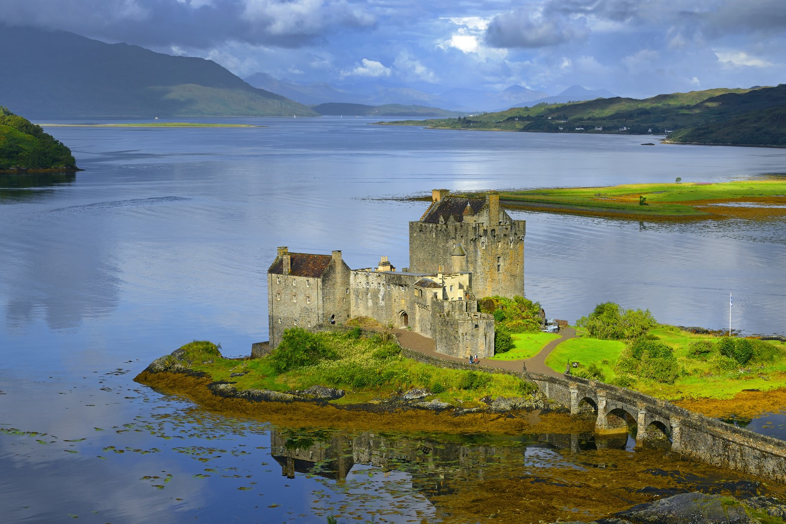 The Iconic Eilean Doonan Castle by Kyle of Lochaish
