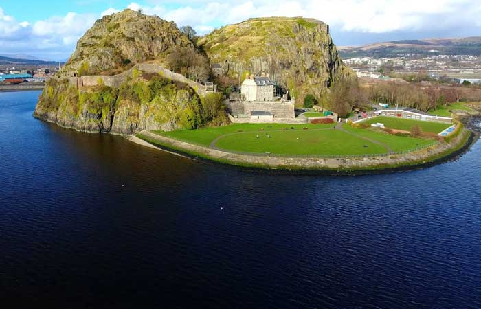 Dumbarton Castle, near Glasgow