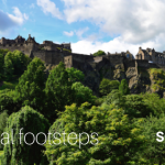 Edinburgh Castle. It is one of many castles with royal connections in Scotland.