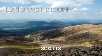 The Cairngorm Mountains. They feature heavily in the Highlands Tourist Route road trip.