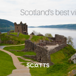 Urquhart Castle with its idyllic Loch Ness backdrop
