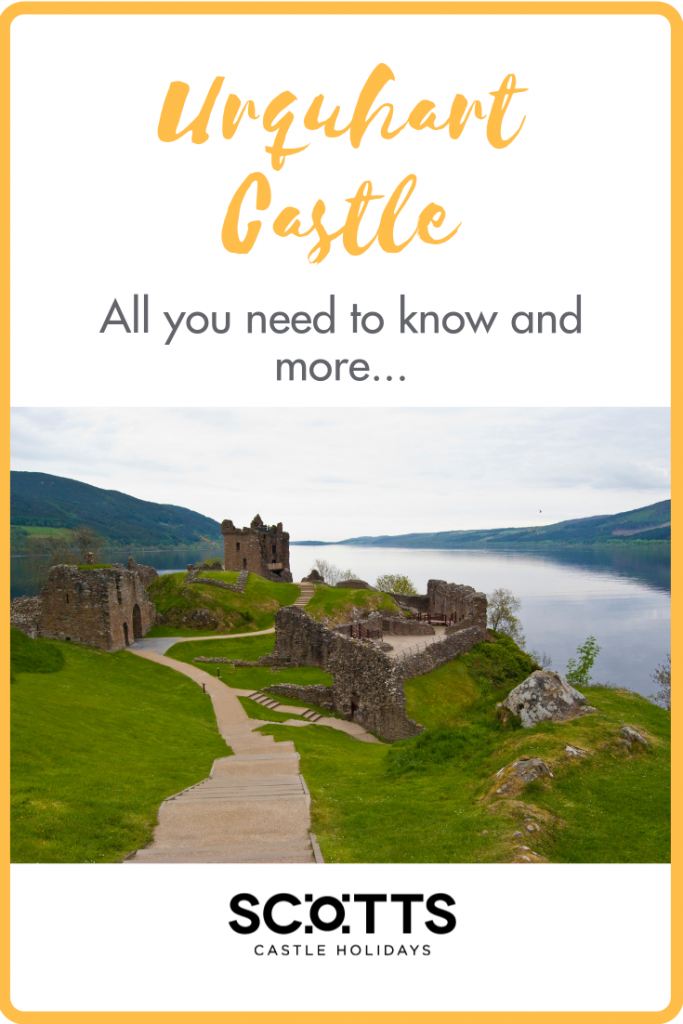 Urquhart Castle with its Loch Ness backdrop is one of Scotland's most iconic castles.