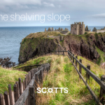 Dunnottar Castle - The remote and dramatic location of Dunnottar Castle on top of its own cliff peninsula on the road to Aberdeen, is worth a day trip. Come visit with us...