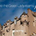 Crathes Castle was built as a castle to stay in rather than defend and remains intact today