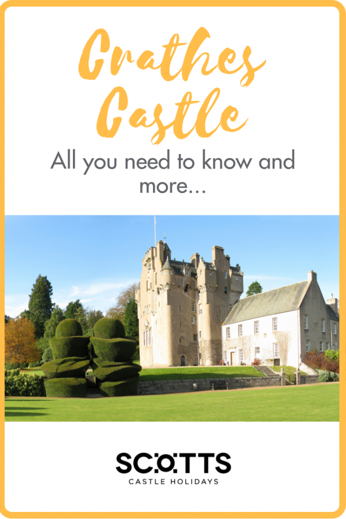 Picture the quintessential Scottish castle – think turrets and towers set in beautiful woodlands – and the chances are that Crathes Castle fits the bill.