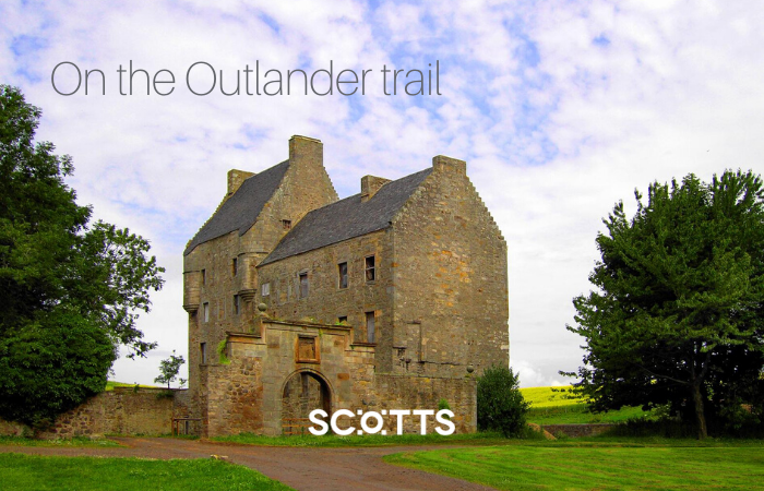 In the TV series Outlander, Midhope Castle becomes Lallybroch, find out more about its real life history here